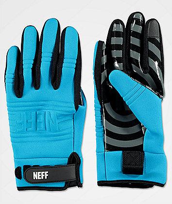 Neff Daily Cyan Pipe Snowboard Gloves