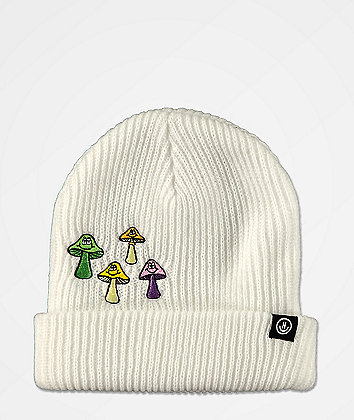 Neff Fun Guys White Beanie