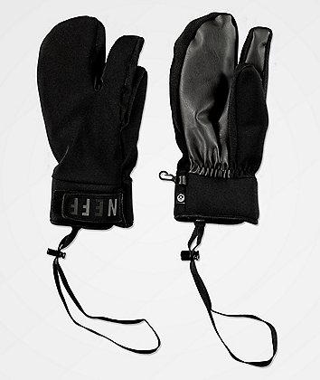 Neff Klaw Black Snowboard Mittens