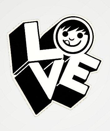 Neff Love Black & White Sticker