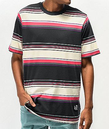 Neff Riser Black Stripe T-Shirt