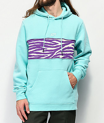 Neff Setup Blue & Purple Fleece Hoodie