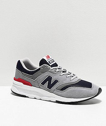 New Balance Lifestyle 997H Grey & Navy Shoes