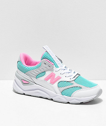 New Balance X90 Reconstructed White Tide Shoes