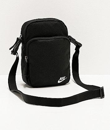 Nike Heritage 2.0 Black Shoulder Bag