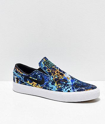 Nike SB Janoski RM Slip-On Dorm Room Lava Lamp Skate Shoes