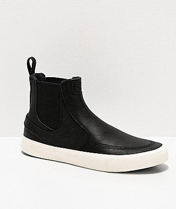 Nike SB Janoski Slip Mid RM Black & White Skate Shoes