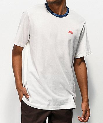 Nike SB Nordic Rib Sail White & Obsidian T-Shirt