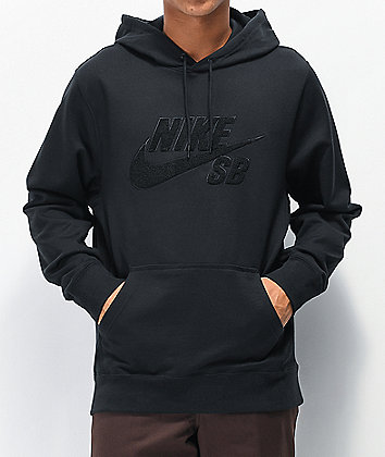 Nike SB Seasonal sudadera con capucha negra