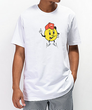 Nike SB Swoosh Face White T-Shirt