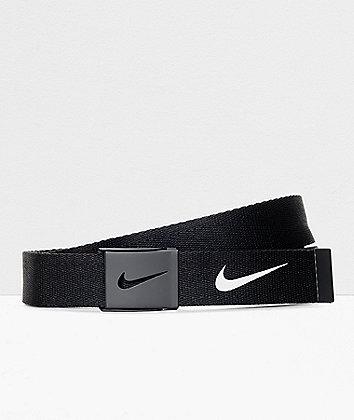 Nike Tech Essentials Black Web Belt
