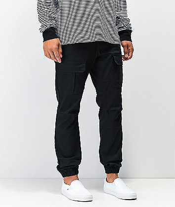 Ninth Hall Haul jogger cargo pantalones negros