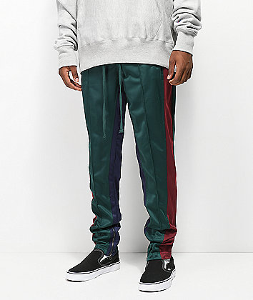 Ninth Hall Nordberg Dark Green Track Pants