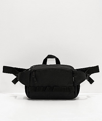 Ninth Hall Stowaway Black Fanny Pack