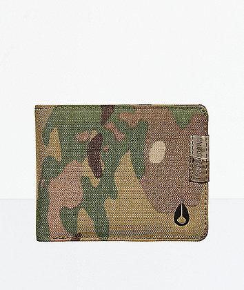 Nixon Cape Multicam Bifold Wallet