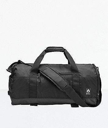 Nixon Pipes Black Duffle Bag