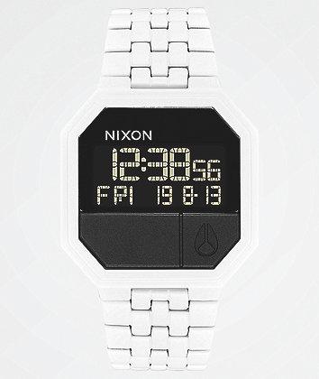 Nixon Re-Run White Digital Watch