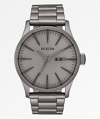 Nixon Sentry SS Dark Steel Analog Watch