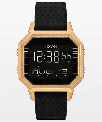 Nixon Siren SS Leila Gold & Black Digital Watch