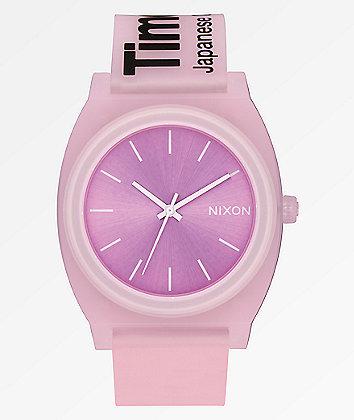 Nixon Time Teller Invisible Pink Analog Watch