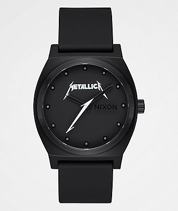 Nixon x Metallica Time Teller Classic Logo Black Watch