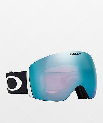 Oakley Flight Deck Black & PRIZM Sapphire Iridium gafas de snowboard
