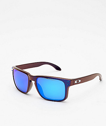 Oakley Holbrook Shift Blue & Red Prizm Sunglasses