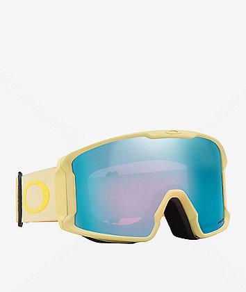 Oakley Line Miner Jamie Anderson Sand & Sapphire Snowboard Goggles