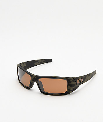Oakley Matte Camo Prizm Tungsten Polarized Sunglasses