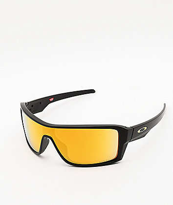 Oakley Ridgeline Black & 24K Prizm Polarized Sunglasses