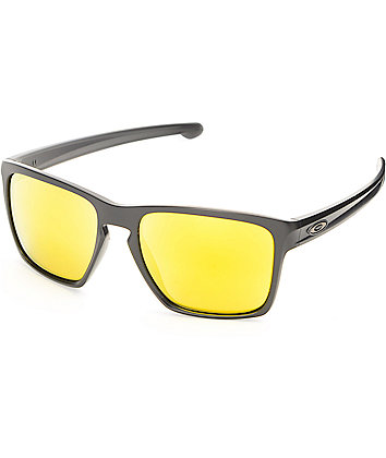 Oakley Sliver XL Matte Black & 24k Iridium Sunglasses