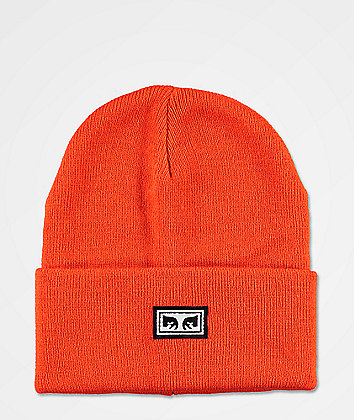 Obey Icon Eyes Burnt Red Beanie