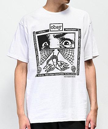 Obey Shockbound White T-Shirt