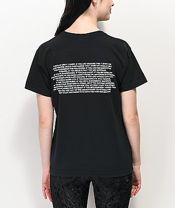 Obey This Is A Black T-Shirt