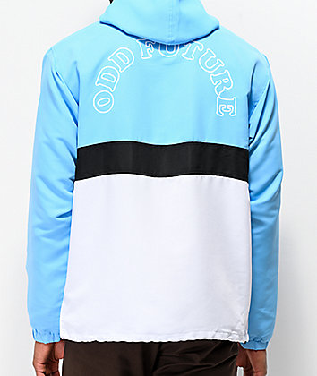Odd Future Arc Logo Light Blue Anorak Jacket