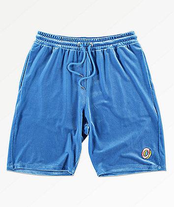 Odd Future Beach Blue Velour Shorts