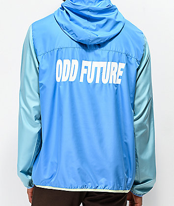 Odd Future Blocked Blue & Teal Anorak Jacket