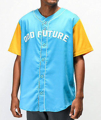Odd Future Blue & Yellow Baseball Jersey