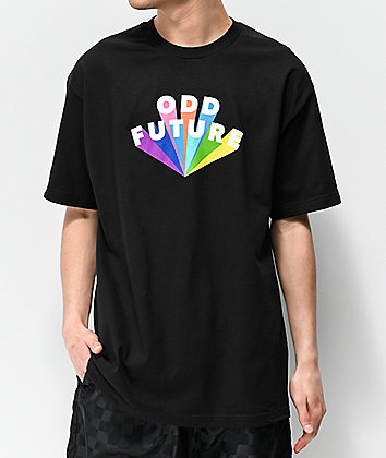 Odd Future Color Burst Black T-Shirt
