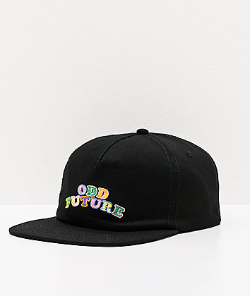Odd Future Deconstructed Black Snapback Hat