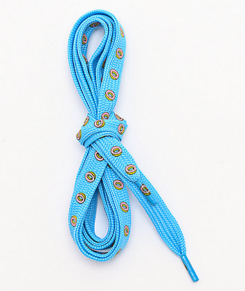 Odd Future Donut Blue Shoelaces