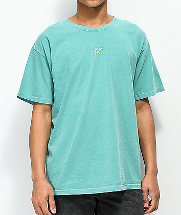 Odd Future Embroidered Turquoise T-Shirt