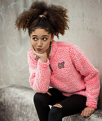 Odd Future Wubby Coral Pink Jacket