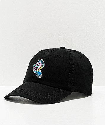 Odd Future x Santa Cruz Screaming Donut Black Strapback Hat