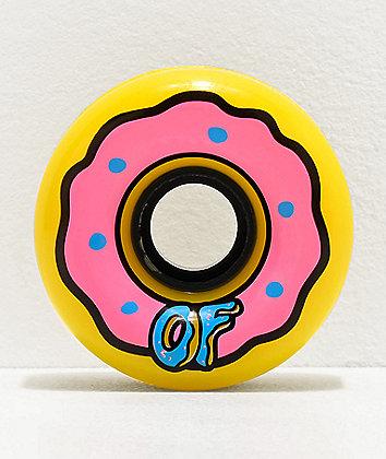 Odd Future x Slime Balls Donut 65mm 78a ruedas de longboard