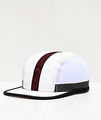 Official Velo Corsa White Strapback Hat