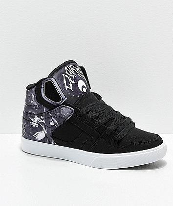 Osiris Clone Huit King Black Skate Shoes