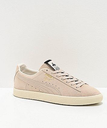 PUMA Clyde Fedora Whisper White Shoes