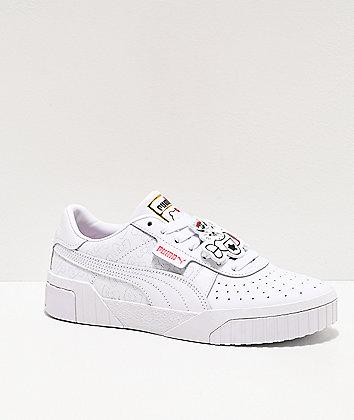 PUMA x Hello Kitty California White & Red Shoes