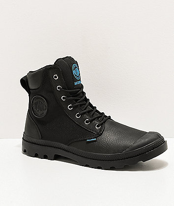 Palladium Pampa Sport Cuff WPN Black Boots